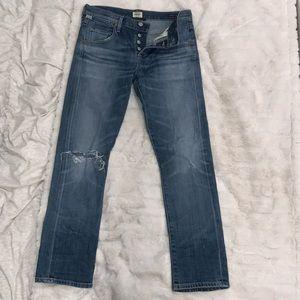 Citizens of humanity slim boyfriend jeans